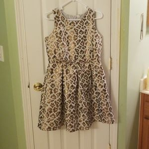 Cherokee animal print dress